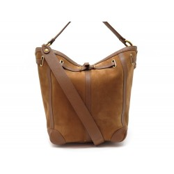 SAC A MAIN JEROME DREYFUSS TANGUY CUIR & SUEDE