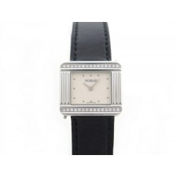 MONTRE POIRAY MA PREMIERE 16/9E DIAMANTS QUARTZ + BOITE + BRACELET