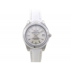NEUF MONTRE BREITLING GALACTIC MOTHER OF PEARL W7433012 QUARTZ 36 MM ACIER 4295€