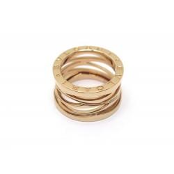 NEUF BAGUE BULGARI B ZERO1 DESIGN LEGEND 353587 T52 OR ROSE + BOITE RING 2180€