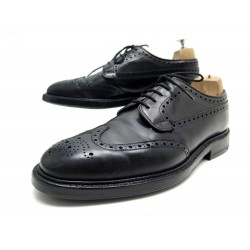 CHAUSSURES CHURCH'S DERBY GRAFTON TRIPLE SEMELLES 7.5G 41.5 CUIR NOIR SHOES 690€