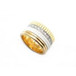 BAGUE BOUCHERON QUATRE WHITE EDITION LARGE JRG01599 52 OR DIAMANTS RING 7700€