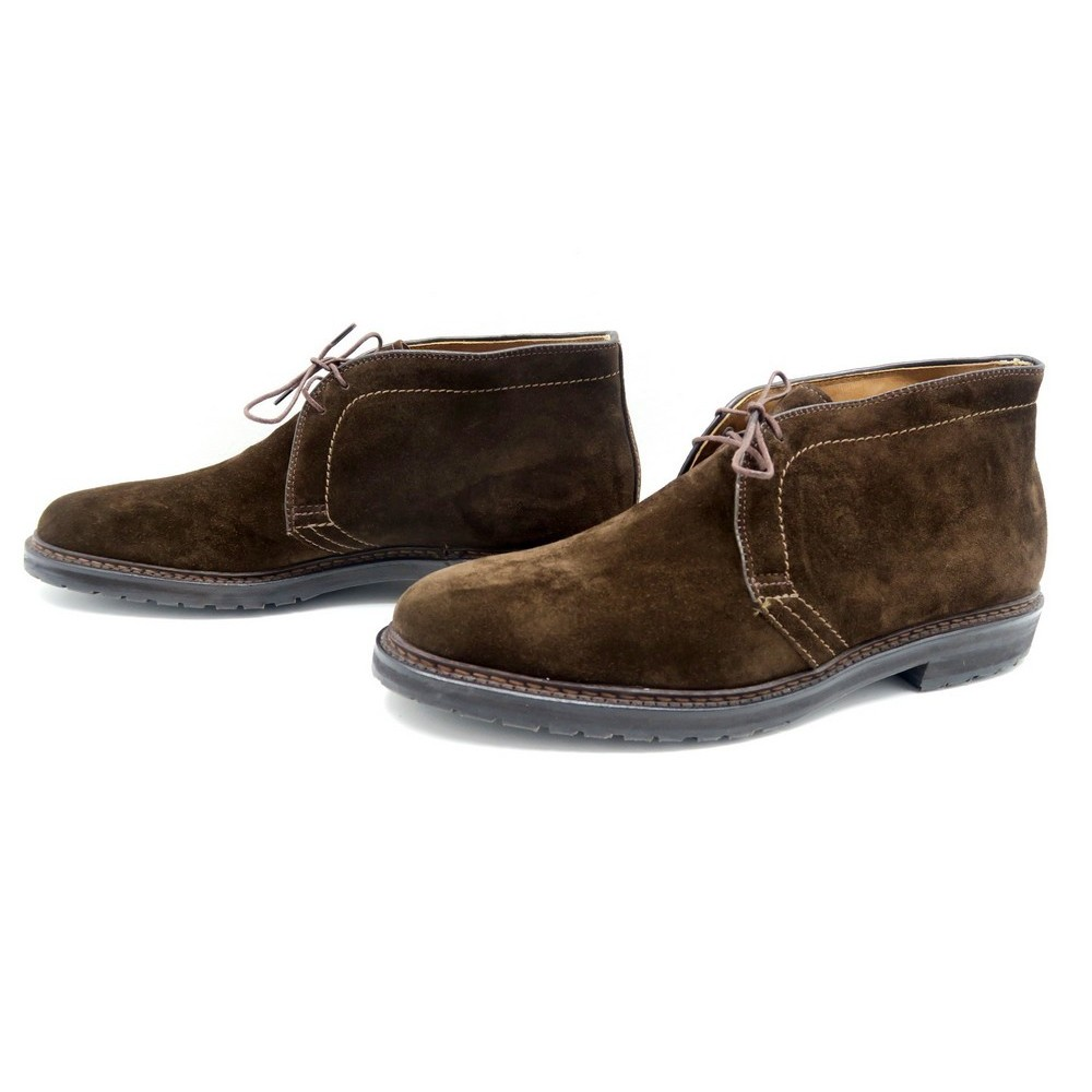 ebd5c564302 NEUF CHAUSSURES ALDEN CAPE COD CHUKKA 11C US 44.5 FR VEAU VELOURS. Loading  zoom