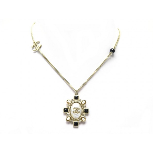 NEUF COLLIER CHANEL Y47853 METAL DORE