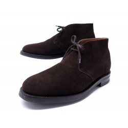 CHAUSSURES CHURCH'S BOTTINES RYDER 7.5F 41.5 DAIM MARRON SUEDE BOOTS SHOES 495€
