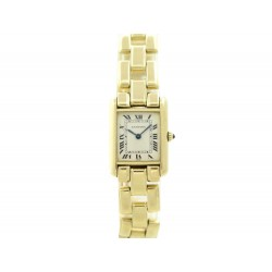 MONTRE CARTIER TANK AMERICAINE 1151 OR JAUNE 18CT QUARTZ