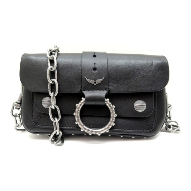 NEUF SAC A MAIN ZADIG & VOLTAIRE KATE MOSS WALLET SJAV4003F BANDOULIERE 320€
