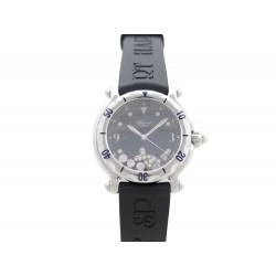 MONTRE CHOPARD HAPPY SPORT HAPPY FISH 288347-3001 QUARTZ 38 MM DIAMANTS 7720€