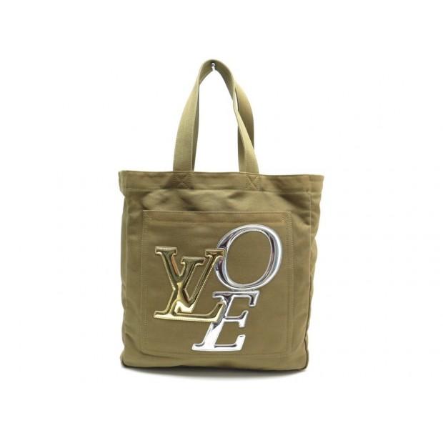 SAC A MAIN LOUIS VUITTON CABAS THAT'S LOVE MM TOILE EDITION LIMITEE BAG 1530€