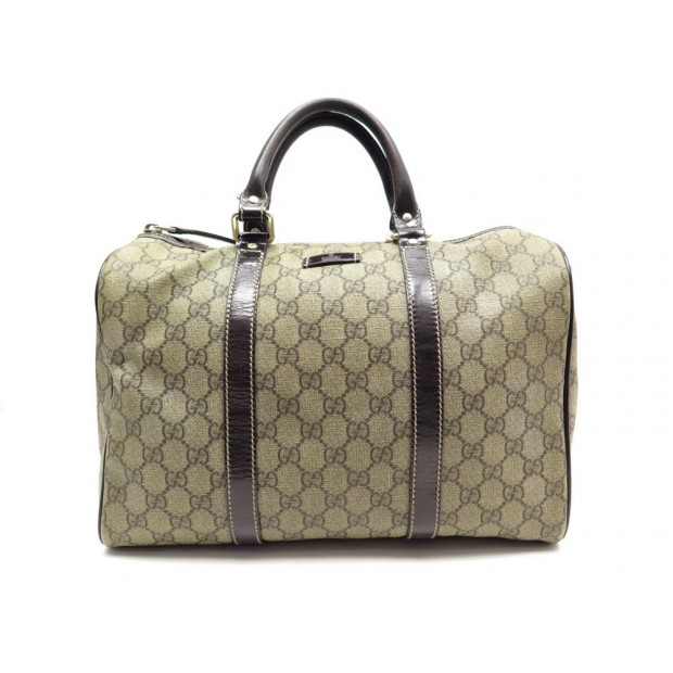 SAC A MAIN GUCCI BOSTON 193603 EN TOILE MONOGRAM GUCCISSIMA & CUIR HAND BAG 450€
