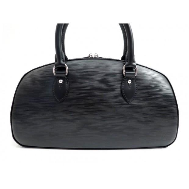 NEUF SAC A MAIN LOUIS VUITTON JASMIN EN CUIR EPI NOIR BLACK HAND BAG PURSE 1350€