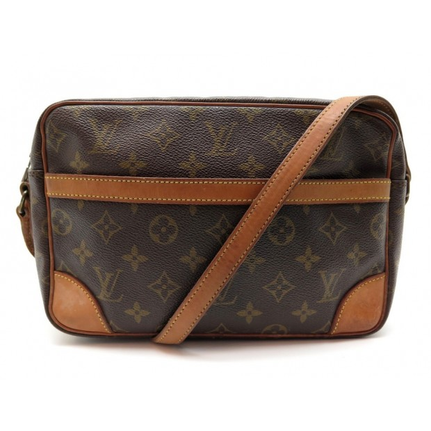 SAC A MAIN LOUIS VUITTON TROCADERO 27 BANDOULIERE TOILE MONOGRAM HAND BAG 1140€