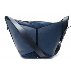 SAC A MAIN JEROME DREYFUSS ABEL DAIM BLEU NAVY