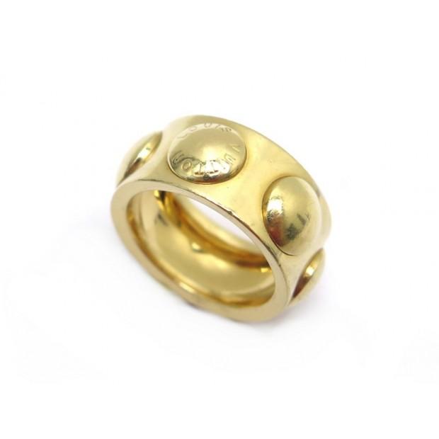 BAGUE LOUIS VUITTON EMPREINTE GM T54 EN OR JAUNE 18K YELLOW GOLD RING