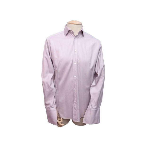 acheter populaire f1db2 5b0aa chemise hermes homme 39 m en coton rose manches