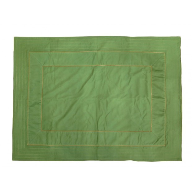 RARE SAC DE COUCHAGE HERMES POILS DE CHAMEAU VERT GREEN CAMEL HAIR SLEEPING BAG