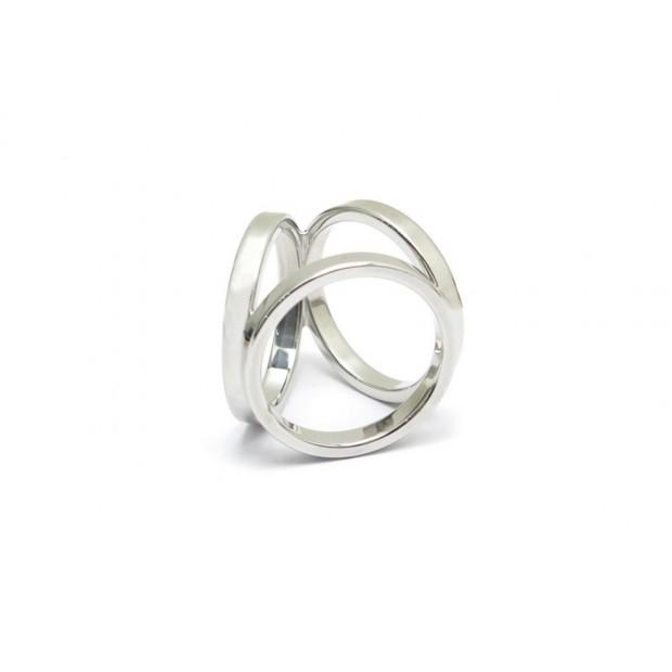 ANNEAU DE CARRE FOULARD HERMES TRIO H601473S00 PALLADIE + SAC SCARF RING 165€