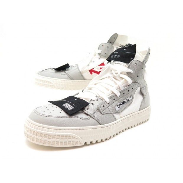 NEUF SNEAKERS OFF-WHITE VIRGIL ABLOH 43 BASKETS OFF COURT 3.0 HIGH CHAUSSURES
