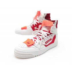 NEUF CHAUSSURES OFF-WHITE VIRGIL ABLOH BASKETS OFF COURT 3.0 HIGH 43 SNEAKERS