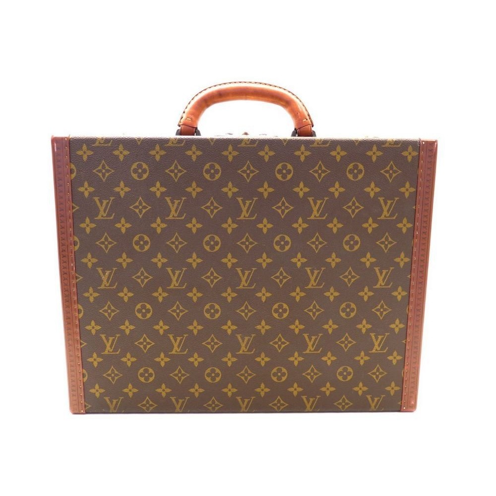 bd35ae2174a ATTACHE CASE LOUIS VUITTON PRESIDENTSAC MALETTE MONOGRAM BAG. Loading zoom