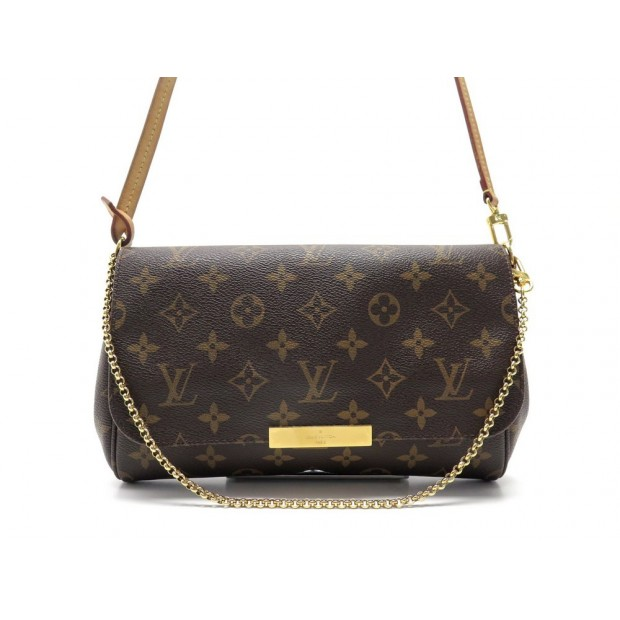 SAC A MAIN LOUIS VUITTON FAVORITE MM BANDOULIERE M40718 EN TOILE MONOGRAM 1280€