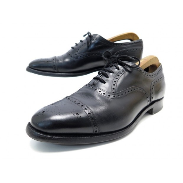 CHAUSSURES CHURCH'S RICHELIEUS BOUT FLEURI DIPLOMAT 8.5G 42.5 EN CUIR SHOES 650€