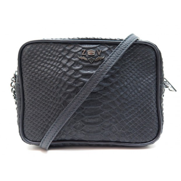 NEUF SAC A MAIN ZADIG & VOLTAIRE XS BOXY SAVAGE BANDOULIERE CUIR HAND BAG 245€