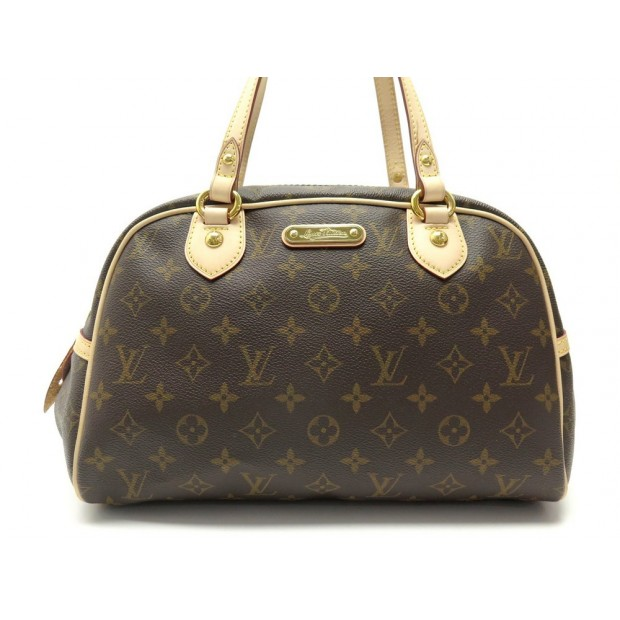 NEUF SAC A MAIN LOUIS VUITTON MONTORGUEIL PM TOILE MONOGRAM CANVAS HANDBAG 1295€