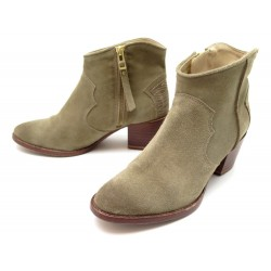 CHAUSSURES ZADIG & VOLTAIRE BOOTS SANTIAGS 37