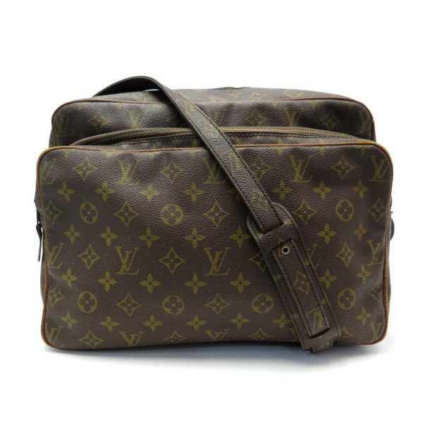 VINTAGE SAC A MAIN LOUIS VUITTON NIL EN TOILE MONOGRAM CANVAS HANDBAG 1240€