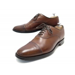 CHAUSSURES CHURCH'S LANARK 6.5F 40.5 41 RICHELIEU CUIR MARRON LEATHER SHOES 550€