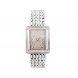 MONTRE POIRAY MA PREMIERE XL GM RECTANGULAIRE DATE 34MM QUARTZ ACIER WATCH 2690€