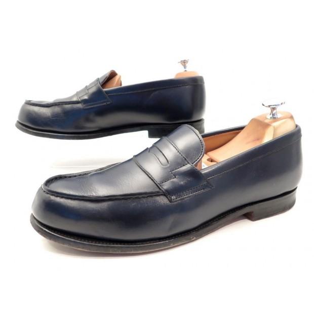 9c1450062b036 chaussures bowen 9 42.5 mocassins homme en cuir bleu