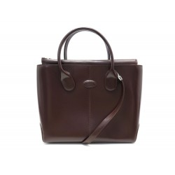 NEUF SAC A MAIN TOD'S D-BAG MM BANDOULIERE EN CUIR MARRON LEATHER HANDBAG 2100€
