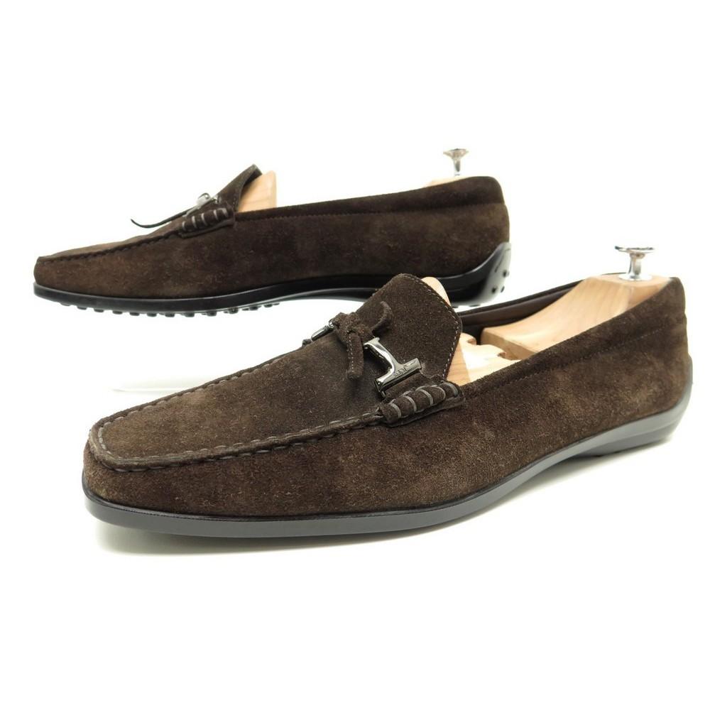 la moitié 4161f 89fbb chaussures tod's city gommino 41 mocassins femme veau