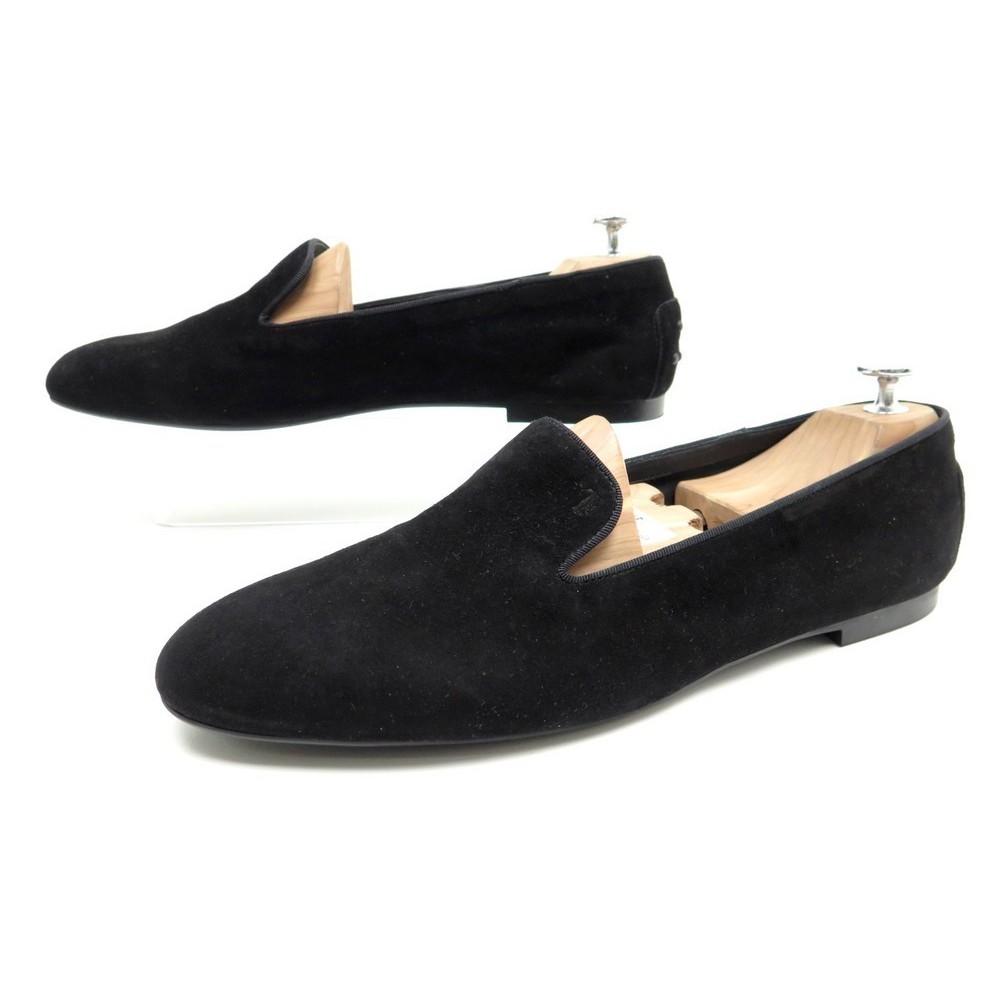 sélection premium ec17c ab62b chaussures tod's 41.5 mocassins femme en daim