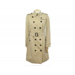 NEUF MANTEAU BURBERRY THE SANDRINGHAM LONG T42 L TRENCH IMPERMEABLE COTON 1790€