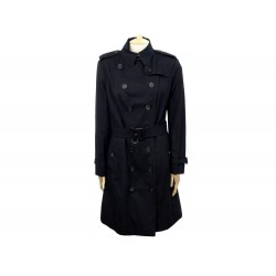 NEUF MANTEAU BURBERRY THE SANDRINGHAM LONG T44 L TRENCH IMPERMEABLE COTON 1790€