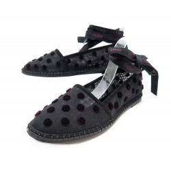 NEUF CHAUSSURES CHRISTIAN DIOR NICELY-D ESPADRILLES 38.5 TOILE +BOITE SHOES 705€