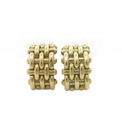BOUCLES D'OREILLES TIFFANY & CO OR JAUNE 18K 19.5 GR + BOITE GOLD EARRINGS 8500€