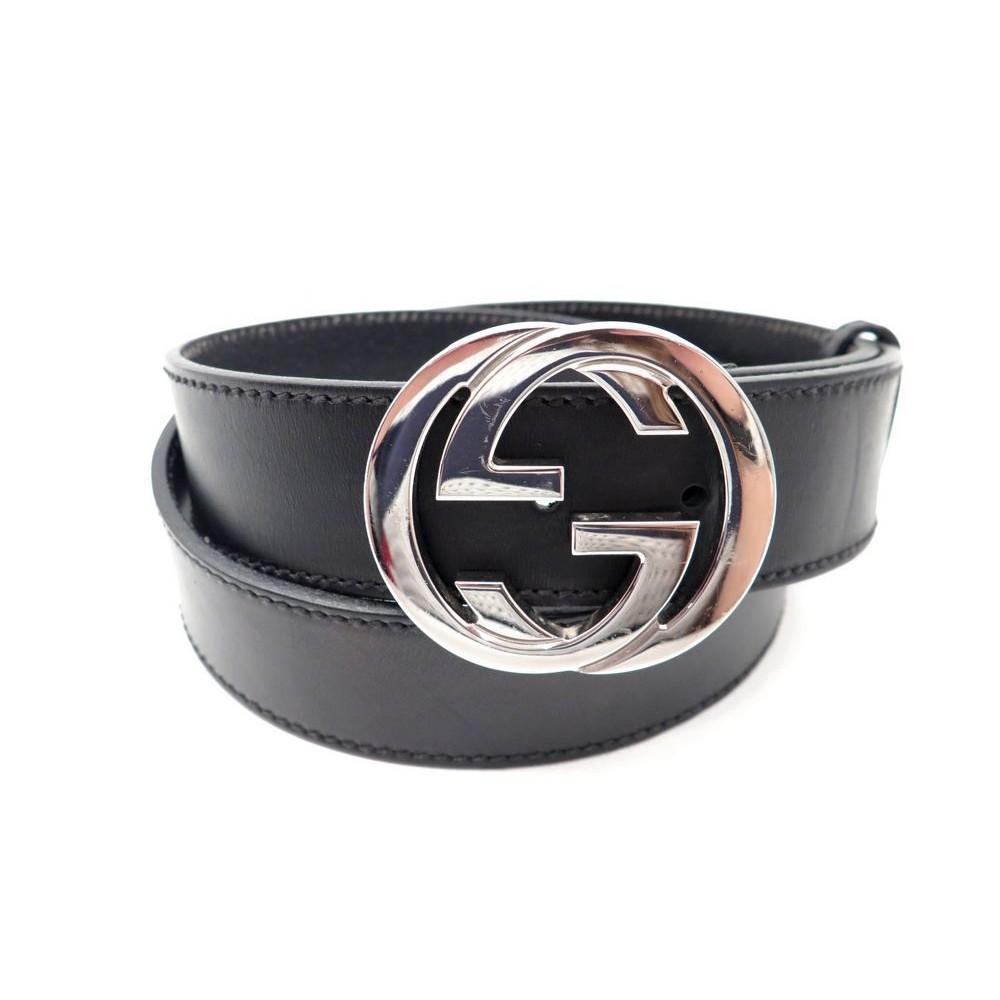 ceinture gucci 114984 t 95 logo double g mixte en cuir 02ff232d47e
