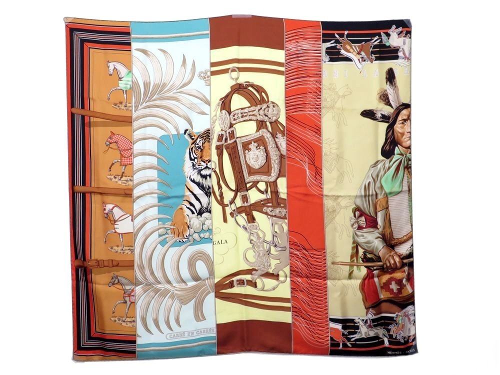 Bali Barret foulard hermes carre en carres bali barret soie