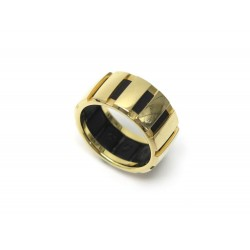 BAGUE CHAUMET CLASS ONE GM T54 OR JAUNE 18K 9.2GR + ECRIN YELLOW GOLD RING 2150€