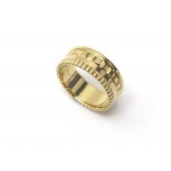 NEUF BAGUE BOUCHERON QUATRE RADIANT PM JRG02685 T53 EN OR JAUNE GOLD RING 3830€