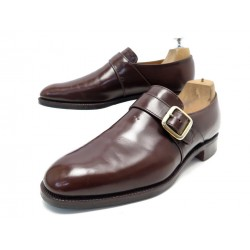 CHAUSSURES CHURCH'S WESTBURY MOCASSINS A BOUCLE 8F 42 CUIR MARRON LOAFERS 650€