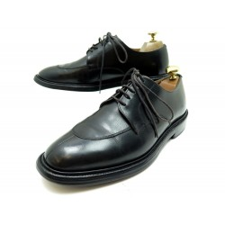CHAUSSURES CHURCH'S DERBY DEMI CHASSE 6.5F 41 CUIR NOIR LEATHER SHOES 590€