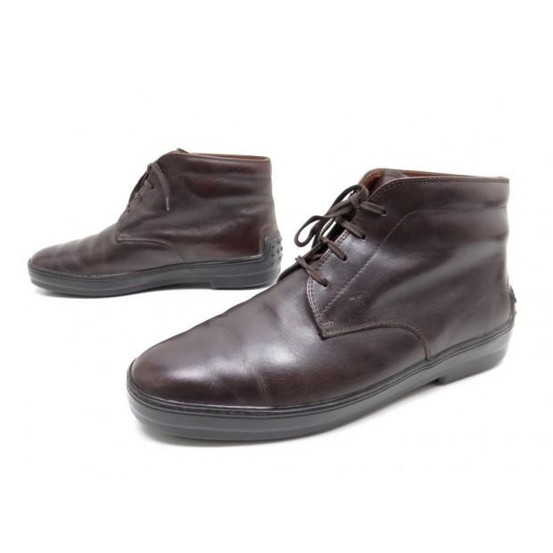 vente professionnelle prix pas cher plutôt sympa chaussures tod's 9 43 bottillons bottines en cuir