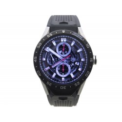NEUF MONTRE TAG HEUER CONNECTED SAR8A80.FT6045 46 MM TITANE TITANIUM WATCH 1100€