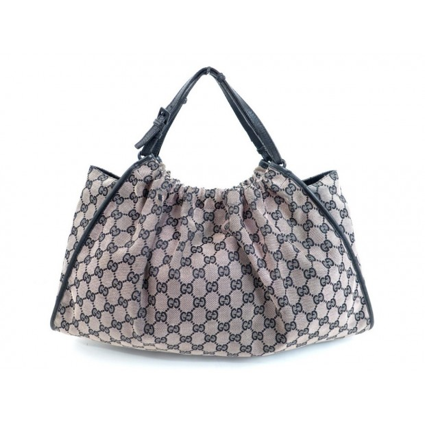 SAC A MAIN GUCCI 76554 CABAS HOBO 43CM EN TOILE MONOGRAMMEE HAND BAG PURSE 800€