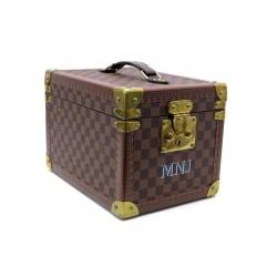 VANITY LOUIS VUITTON BOITE FLACONS M21828 TOILE DAMIER EBENE BOTTLES BOX 5150€